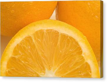 Oranges Canvas Print by Darren Greenwood