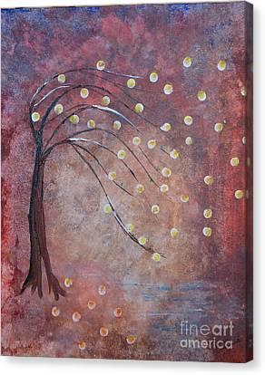 Orb Oak Canvas Print