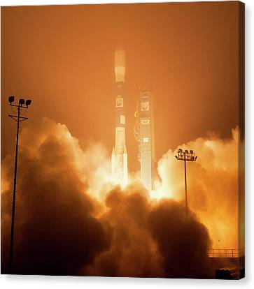 Orbiting Carbon Observatory-2 Launch Canvas Print by Nasa/bill Ingalls