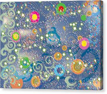 Canvas Print featuring the photograph Orbs by Kim Prowse