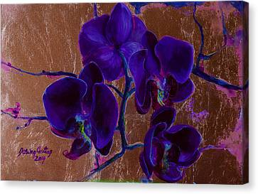 Orchid Canvas Print by Dorina  Costras