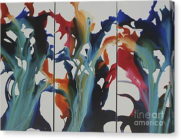 Orchid Canvas Print by Sherry Davis