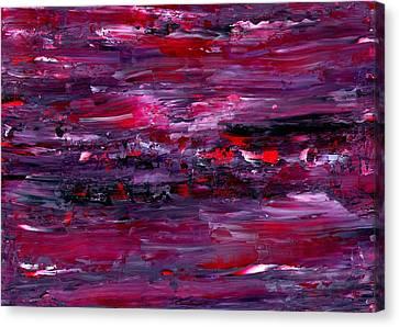 Orchid Storm Canvas Print