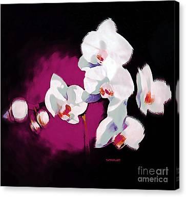 Orchids I Canvas Print by Tatjana Popovska