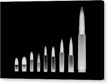 Ordnance Reversed Canvas Print by Ray Gunz