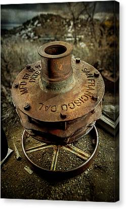Ore Crusher Canvas Print
