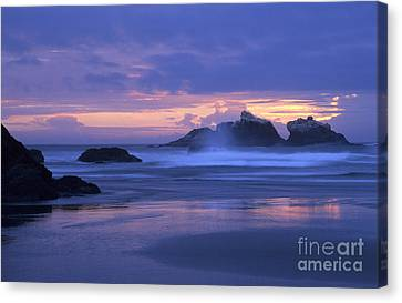 Oregon Coast Sunset Canvas Print