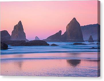 Oregon Coast Twilight Canvas Print