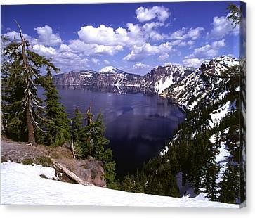 Oregon Crater Lake  Canvas Print