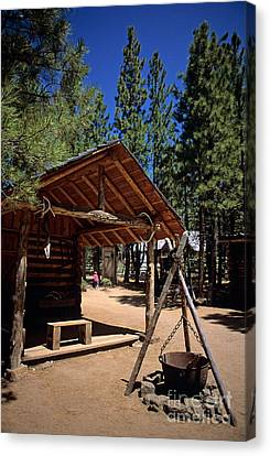 Oregon High Desert Museum Canvas Print by Jim Corwin