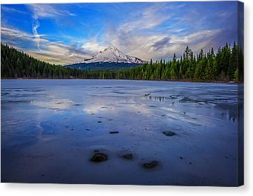 Oregon January Canvas Print by Rick Berk