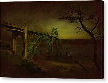 Oregon Light Canvas Print by Jeff Burgess