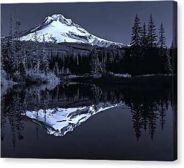Oregon Mont Hood  Canvas Print by Movie Poster Prints