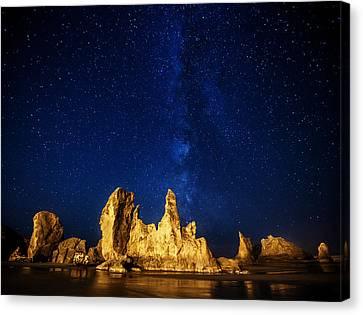 Oregon Nights Canvas Print