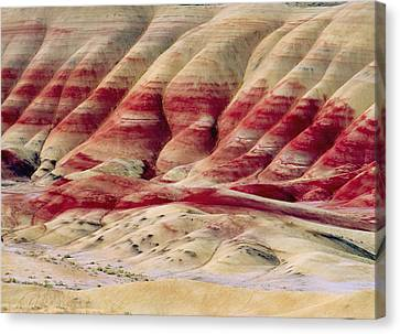 Oregon Painted Hills Canvas Print by Anonymous