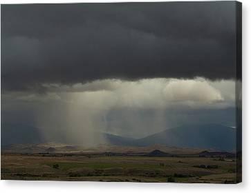 Oregon Rain Canvas Print