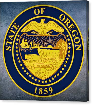 Oregon State Seal Canvas Print