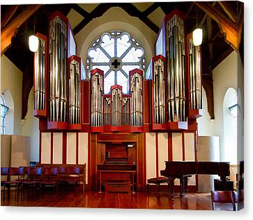 Organ And Piano Canvas Print