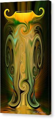 Orient - The Jar Canvas Print by rd Erickson