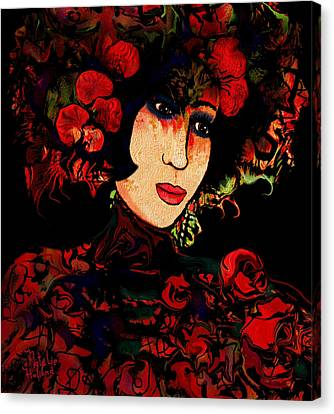 Oriental Beauty Canvas Print by Natalie Holland