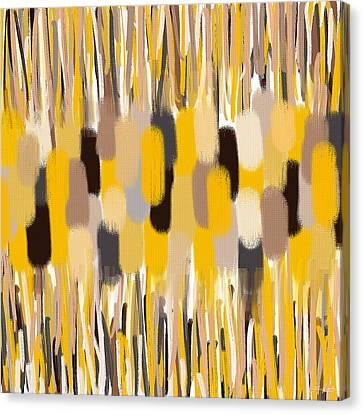 Oriental Feel Canvas Print by Lourry Legarde