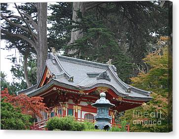 Canvas Print featuring the photograph Oriental Garden #1 by George Mount