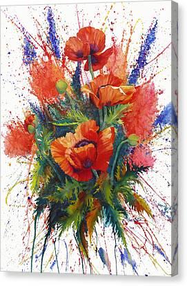 Oriental Overture Canvas Print by Karen Mattson