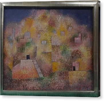 Oriental Pleasure Garden Canvas Print by Paul Klee