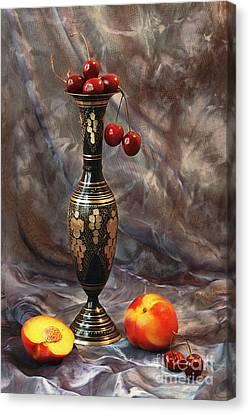 Oriental Still Life Canvas Print by Irina No