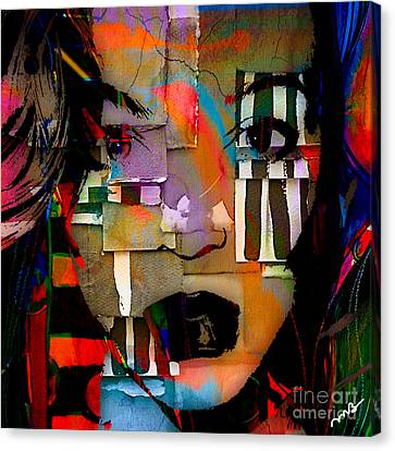 Original Abstract Canvas Print by Marvin Blaine