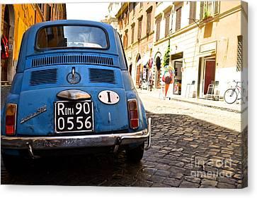 Original Fiat Canvas Print by Arthur Hofer