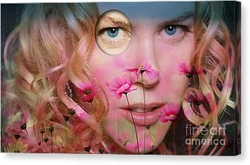 Original Nicole Kidman Painting Canvas Print