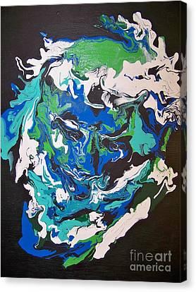 The Hidden Christ Canvas Print by Cheryl Anne Kennedy