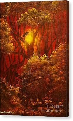 Fairytale Forest- Original Sold - Buy Giclee Print Nr 27 Of Limited Edition Of 40 Prints  Canvas Print