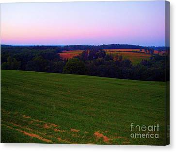 Original Woodstock Concert Site - Back To The Garden Canvas Print