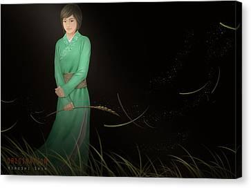 Origination Ver.b Canvas Print by Hiroshi Shih