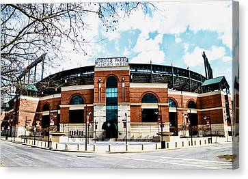 Oriole Park - Camden Yards Canvas Print by Bill Cannon