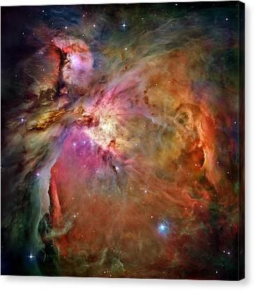 Orion Nebula Canvas Print by Benjamin Yeager