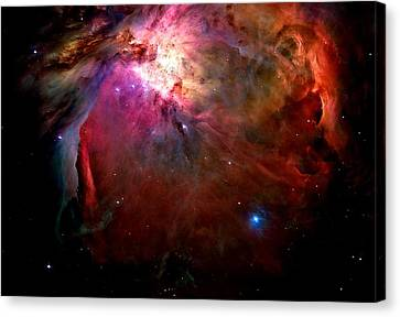 Orion Nebula Close Up Canvas Print by L Brown