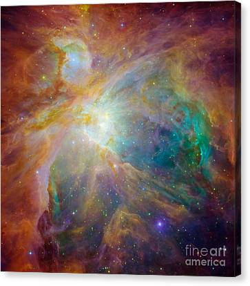 Orion Nebula Detail Canvas Print
