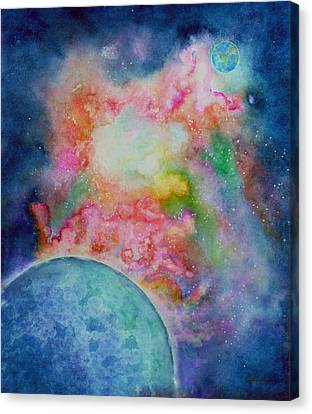 Orion Nebula Canvas Print