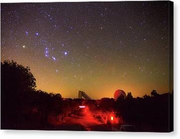 Orion Over Kitt Peak Observatory Canvas Print by Babak Tafreshi