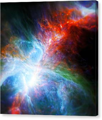 Orion's Rainbow 2 Canvas Print by Jennifer Rondinelli Reilly - Fine Art Photography
