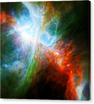 Orion's Rainbow 5 Canvas Print by Jennifer Rondinelli Reilly - Fine Art Photography