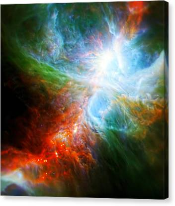 The Universe Canvas Print - Orion's Rainbow 6 by Jennifer Rondinelli Reilly - Fine Art Photography