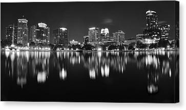 Orlando Black And White Canvas Print by Frozen in Time Fine Art Photography