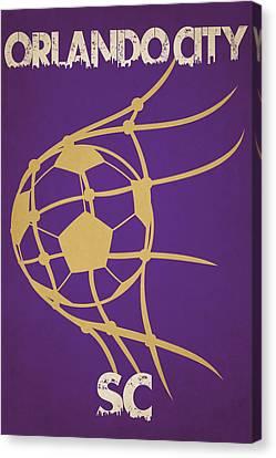 Orlando City Sc Goal Canvas Print by Joe Hamilton