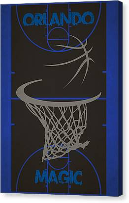 Orlando Magic Court Canvas Print