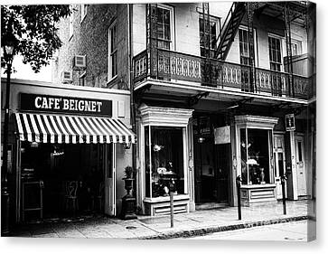 Orleans Cafe Noir Canvas Print by John Rizzuto