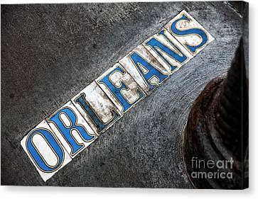 Orleans Canvas Print by John Rizzuto